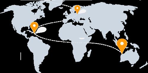 mapa triptime